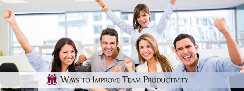 Ways to Improve Team Productivity