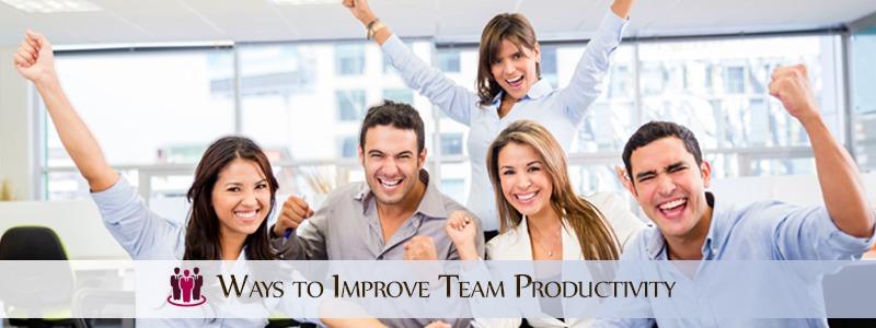 Ways to Improve Team Productivity