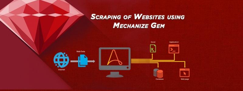 Scraping of Websites using Mechanize Gem