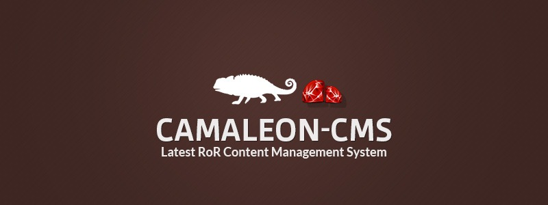Camaleon CMS– The Latest RoR Content Management System