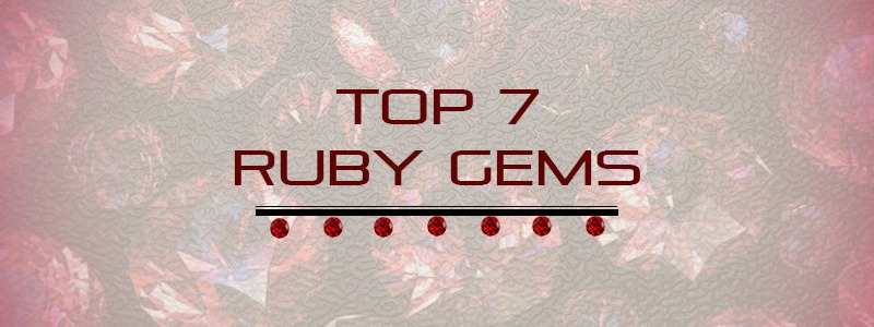 Top 7 Ruby Gems for Total Beginners