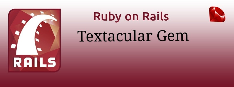 How to use Textacular Gem to search data in your Rails Application
