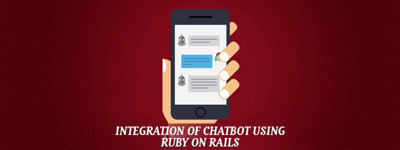 Integration of chatbot using Ruby on Rails