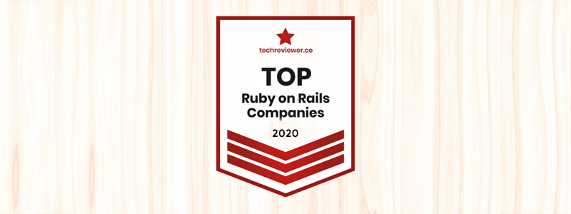 RailsCarma is Recognized as The Top Ruby on Rails Development Company in 2020