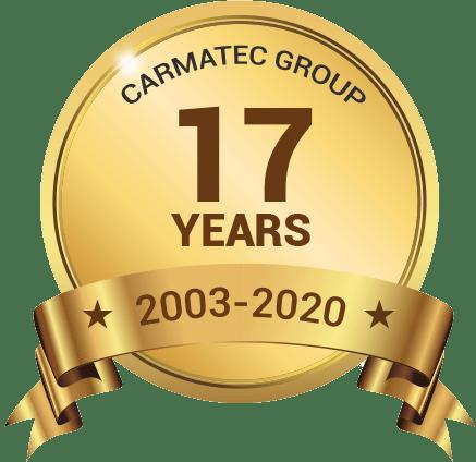 RailsCarma 17 years badge